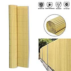 Bambus Sichtschutzmatte, 90 x 500 cm