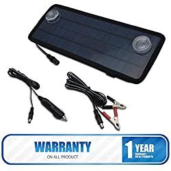 Batterie Solar-Lader